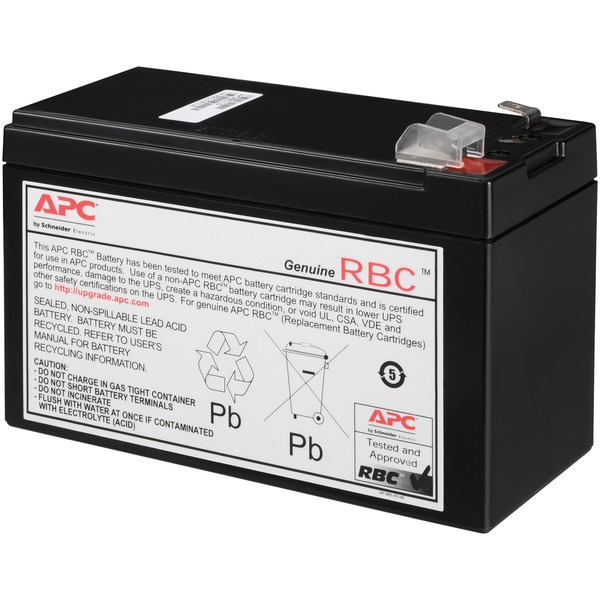 REPLACE BATT CARTRDG BLK