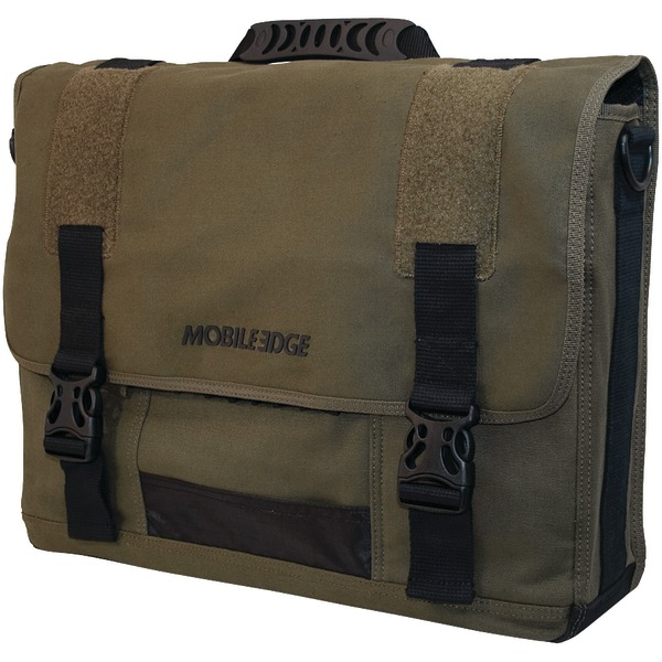GREEN ECO MESSENGER BAG
