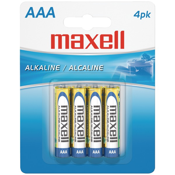 AAA 4PK CARDED BATTERIES