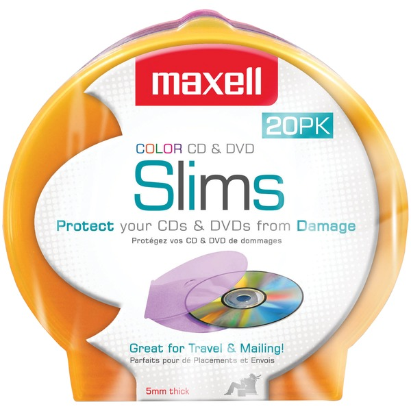 20 PK CD DVD JEWEL CS
