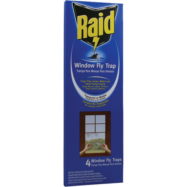 WINDOW FLY TRAP 4PK