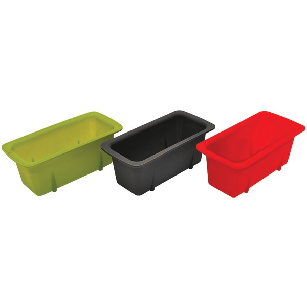 SILICN MINI LOAF PANS 3