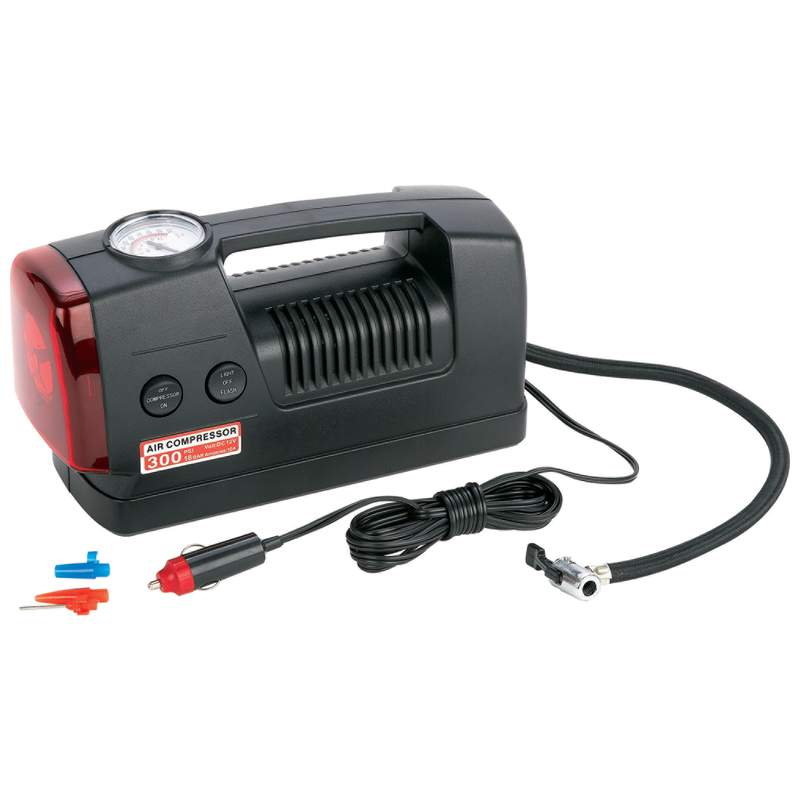 3 IN 1 AIR COMPRESSOR / LIGHT