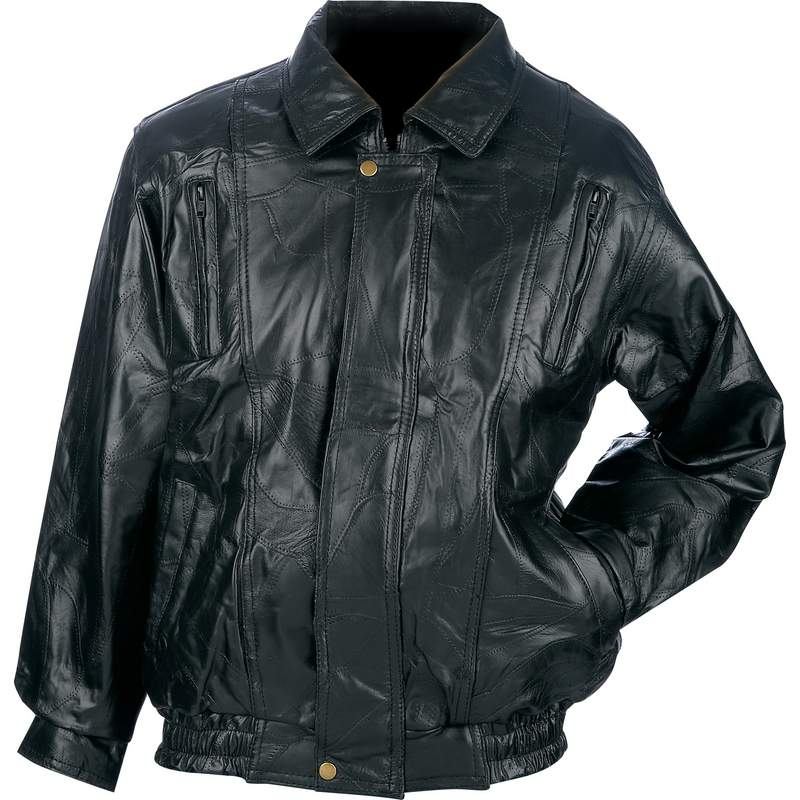LAMBSKIN LEATHER JACKET- 3X