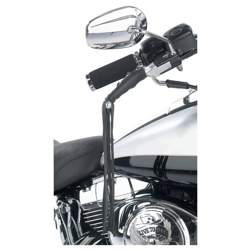 LEATHER MOTORCYCLE LEVER COVER