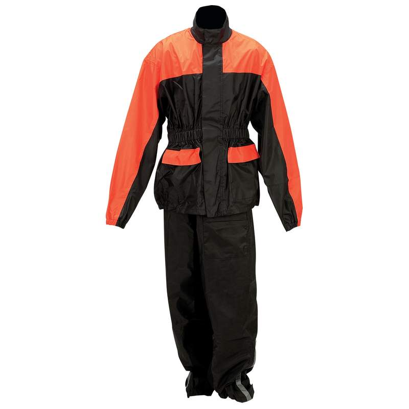 MOTORCYCLE RAIN SUIT 2X/3X