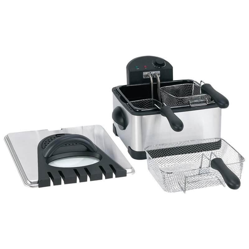4QT ELECTRIC DEEP FRYER