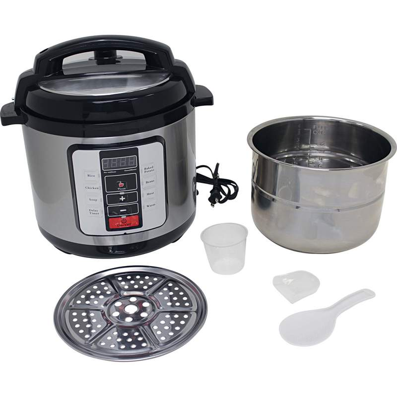 6.3QT ELECTRIC PRESSURE COOKER