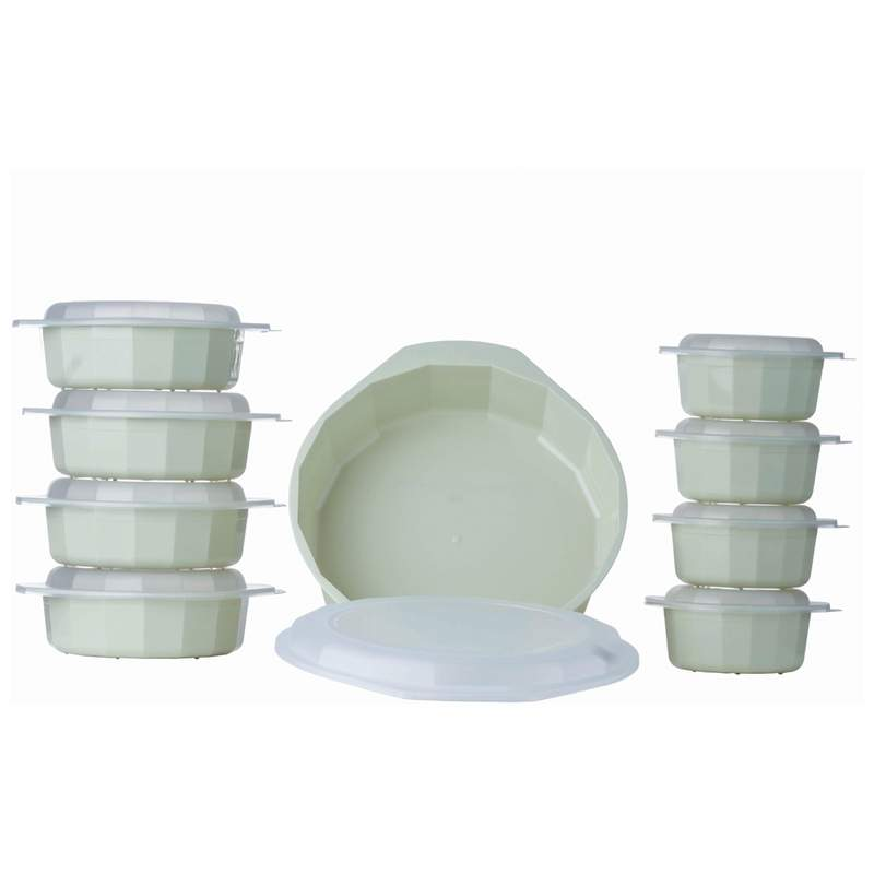 18PC MICROWAVE COOKWARE SET
