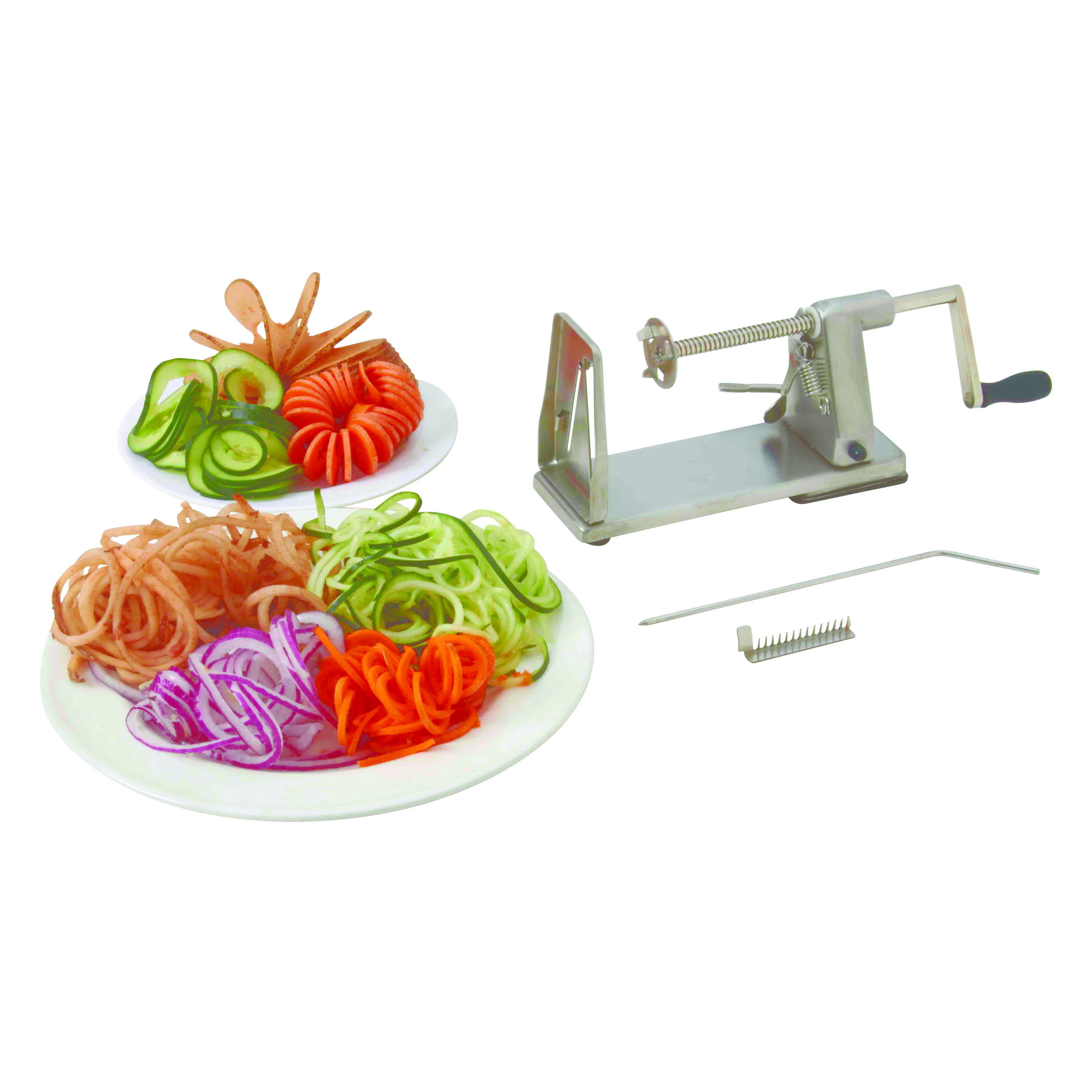 SS VEGETABLE SPIRAL SLICER