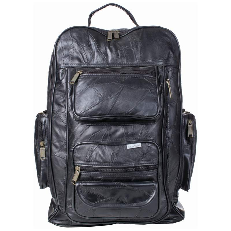 LEATHER ROLLING BACK PACK