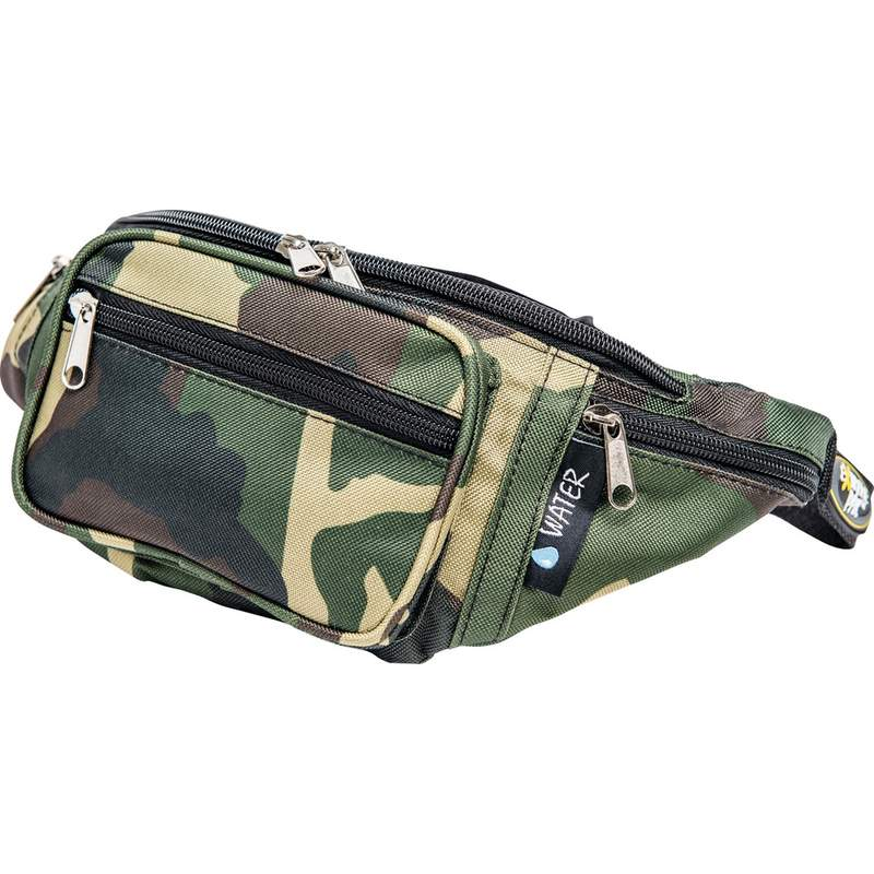 INVISIBLE CAMO WAIST BAG