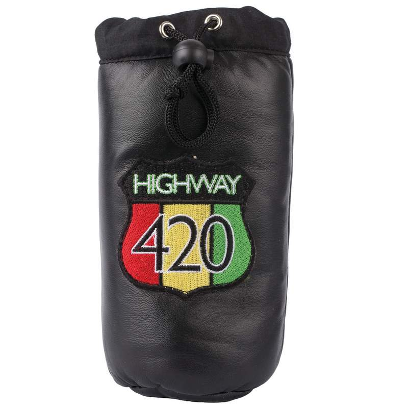 GENUINE LTHR PIPE STORAGE BAG