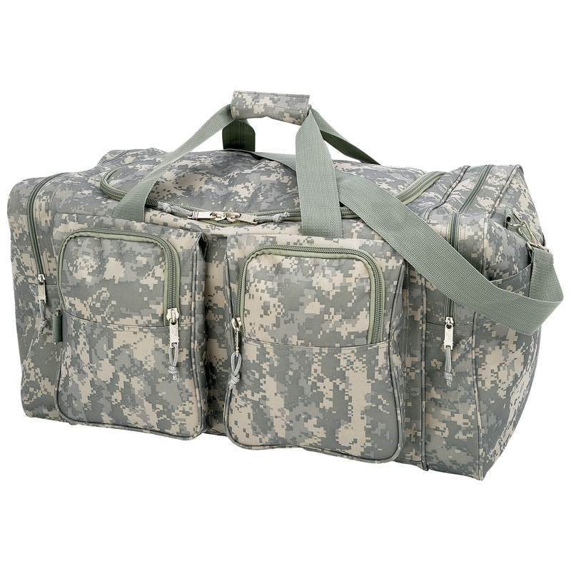 DIGITAL CAMO HVY DUTY TOTE BAG