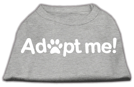 Adopt Me Screen Print Shirt Grey Sm (10)