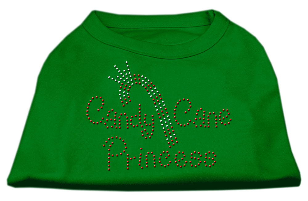 Candy Cane Princess Shirt Emerald Green XL (16)