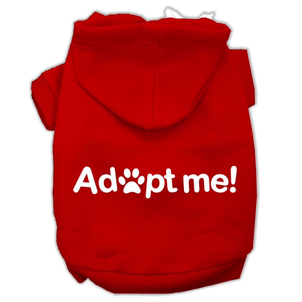Adopt Me Screen Print Pet Hoodies Red Size XXXL (20)