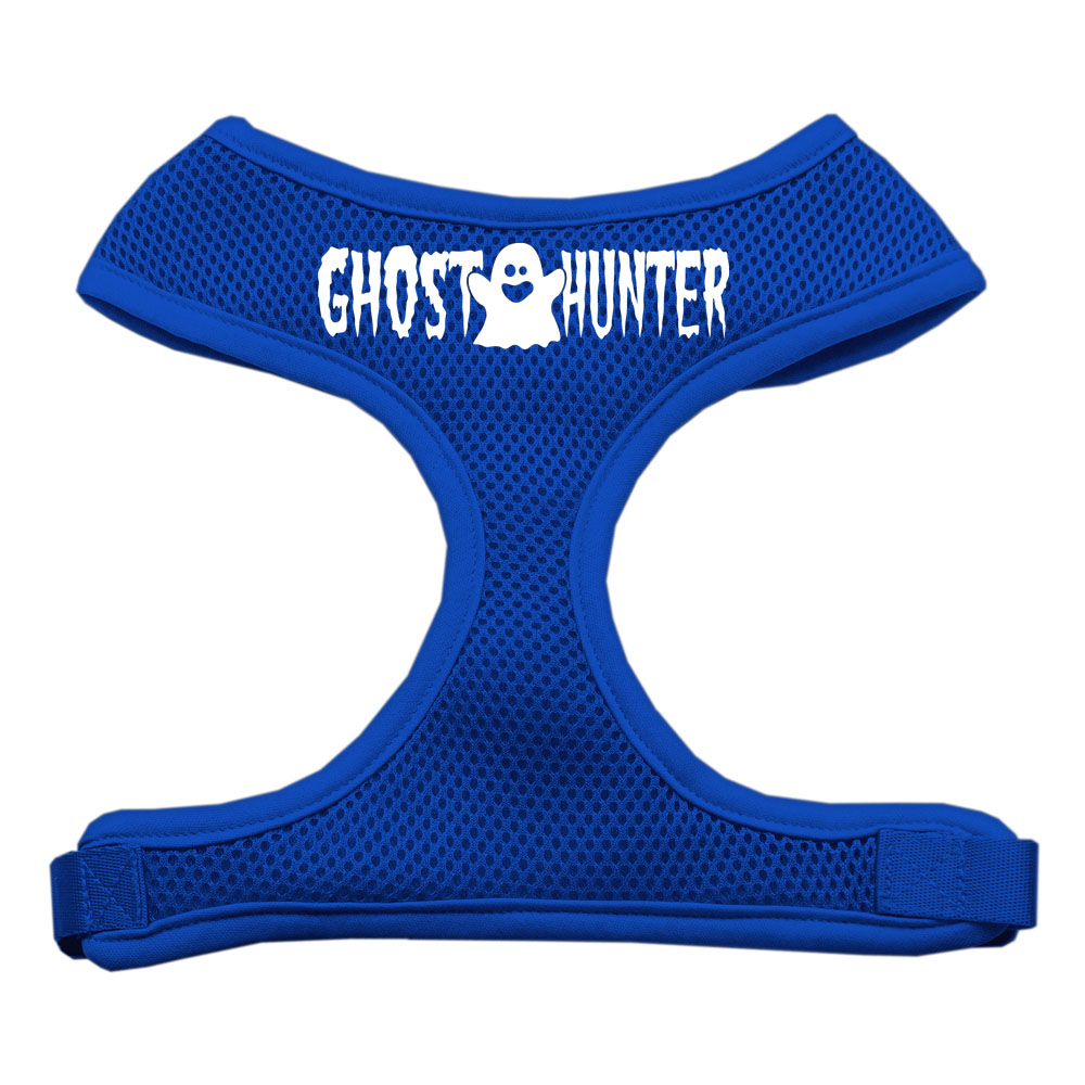 Ghost Hunter Design Soft Mesh Harnesses Blue Extra Large