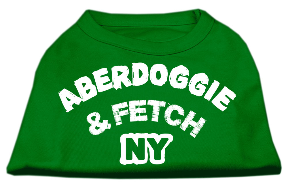 Aberdoggie NY Screenprint Shirts Emerald Green XL (16)