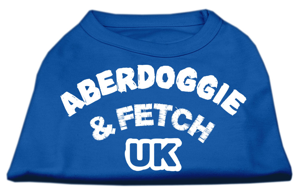 Aberdoggie UK Screenprint Shirts Blue XXL (18)