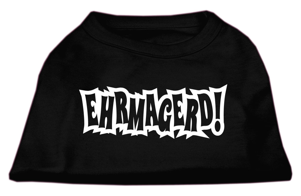 Ehrmagerd Screen Print Shirt Black XL (16)