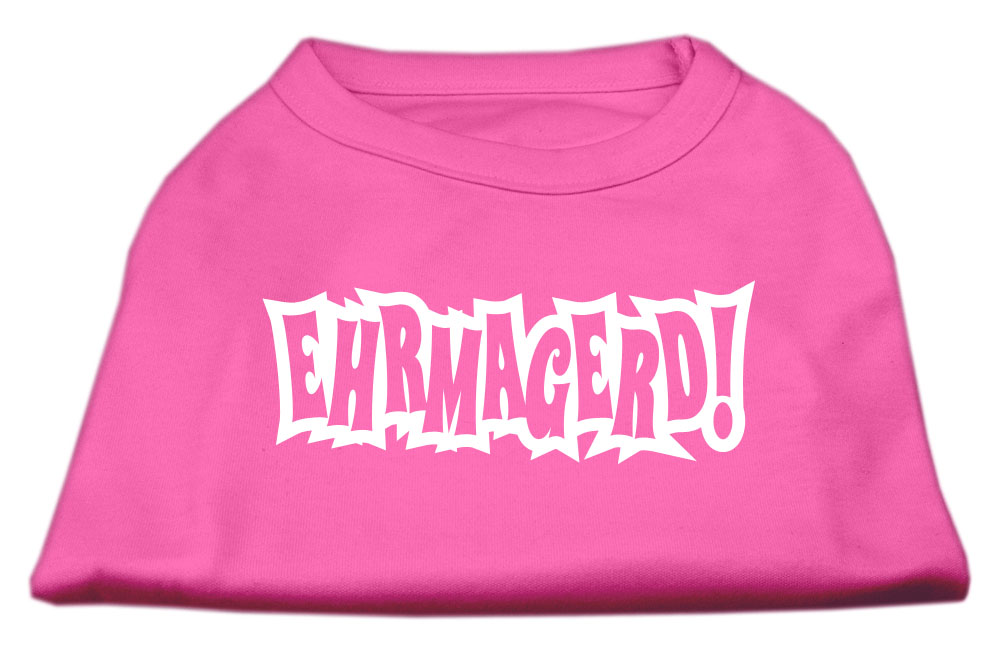 Ehrmagerd Screen Print Shirt Bright Pink XXXL (20)