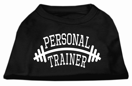 Personal Trainer Screen Print Shirt Black 4X (22)