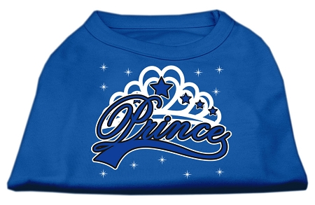 I'm a Prince Screen Print Shirts Blue XXL (18)