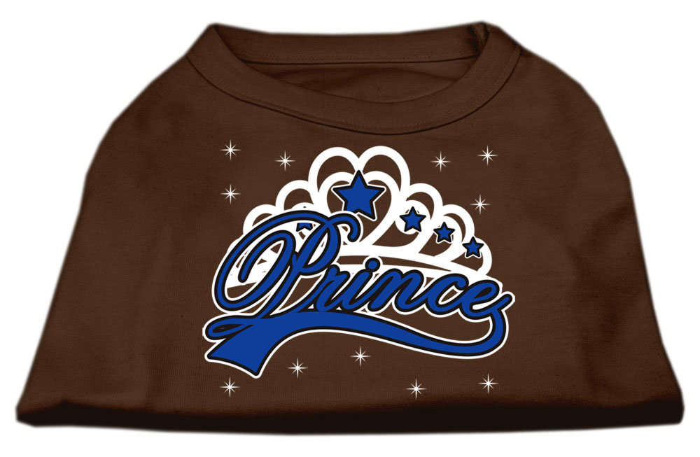 I'm a Prince Screen Print Shirts Brown XS (8)