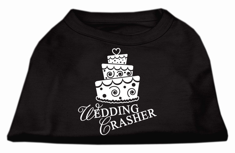 Wedding Crasher Screen Print Shirt Black  Med (12)