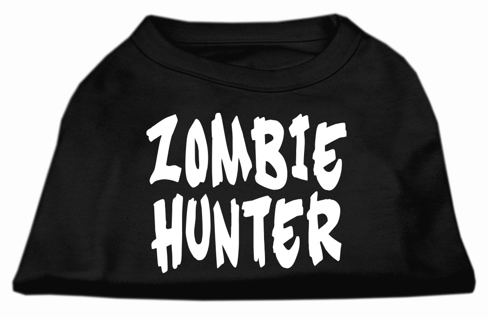 Zombie Hunter Screen Print Shirt Black XXL (18)