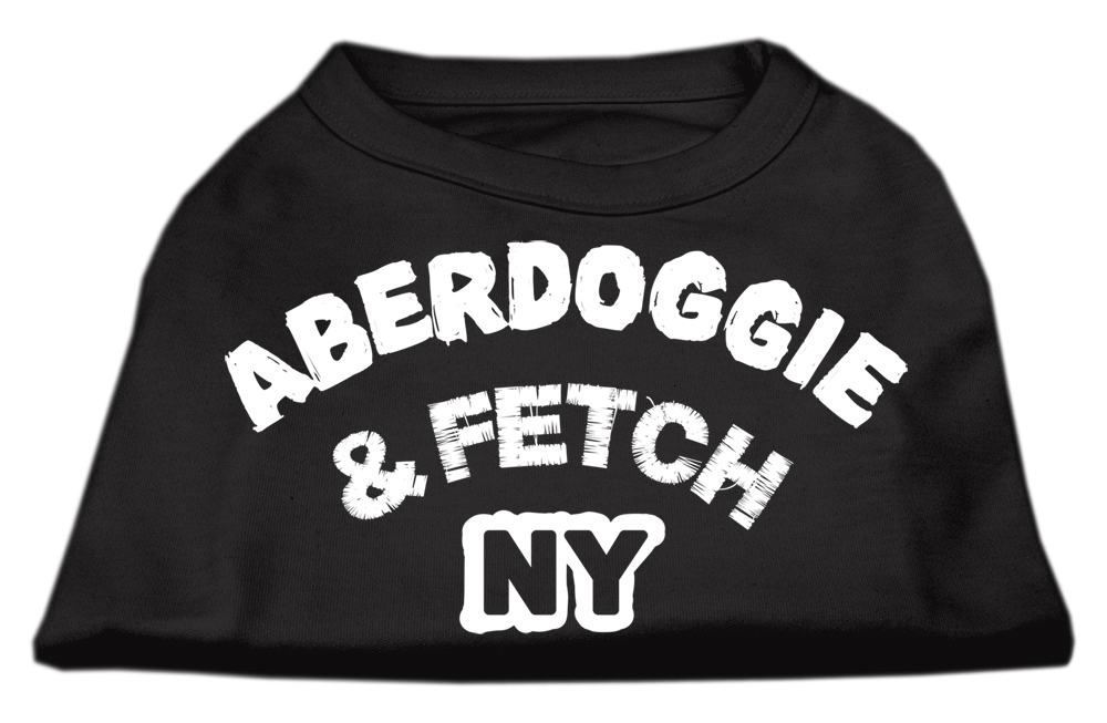 Aberdoggie NY Screenprint Shirts Black  Sm (10)