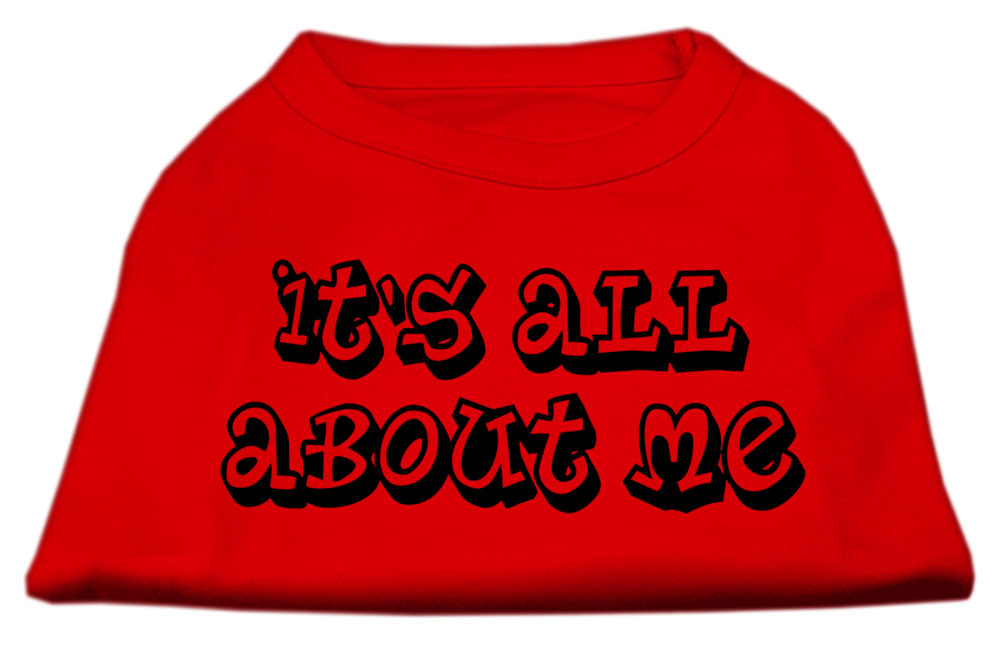 It's All About Me Screen Print Shirts Red Med (12)