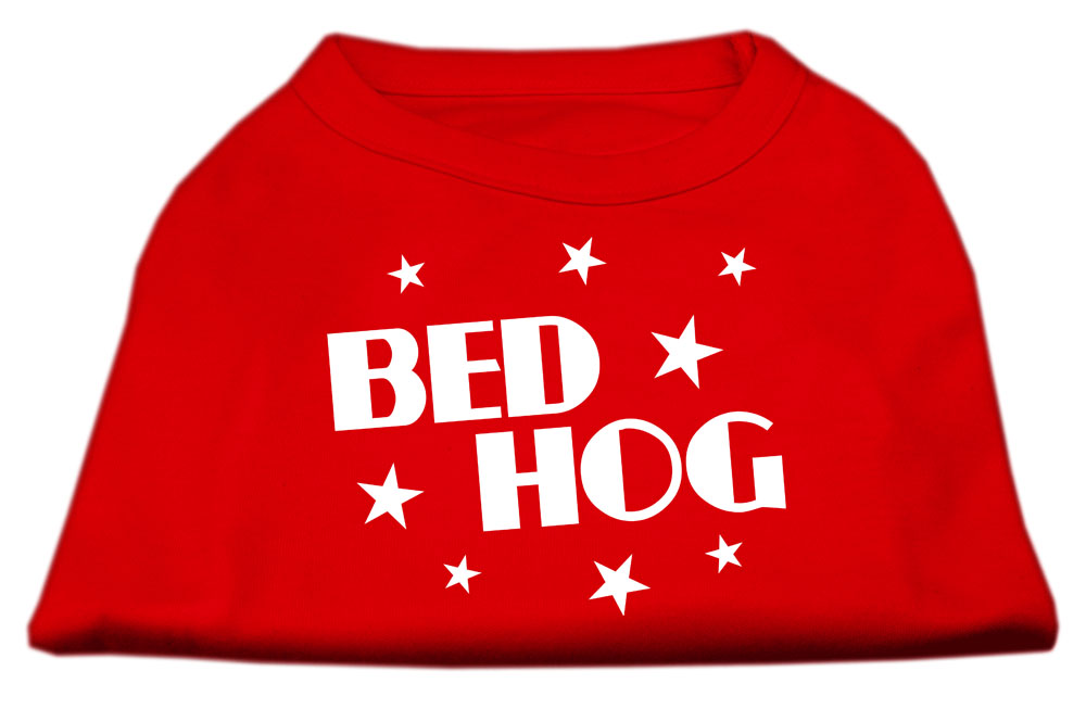 Bed Hog Screen Printed Shirt  Red XS (8)