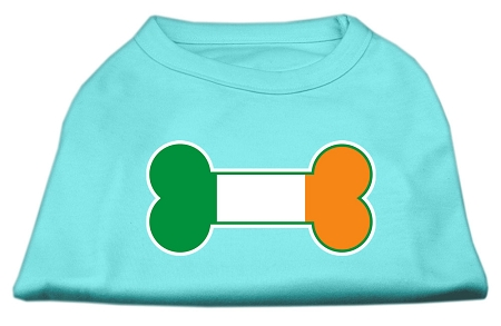 Bone Flag Ireland Screen Print Shirt Aqua XXL (18)