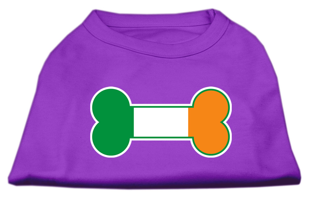 Bone Flag Ireland Screen Print Shirt Purple XXL (18)