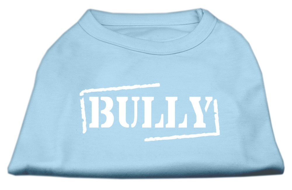 Bully Screen Printed Shirt  Baby Blue XS (8)