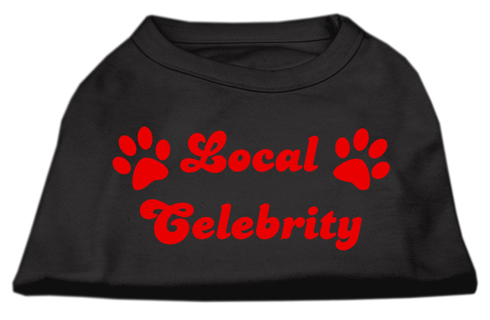 Local Celebrity Screen Print Shirts Black  Med (12)