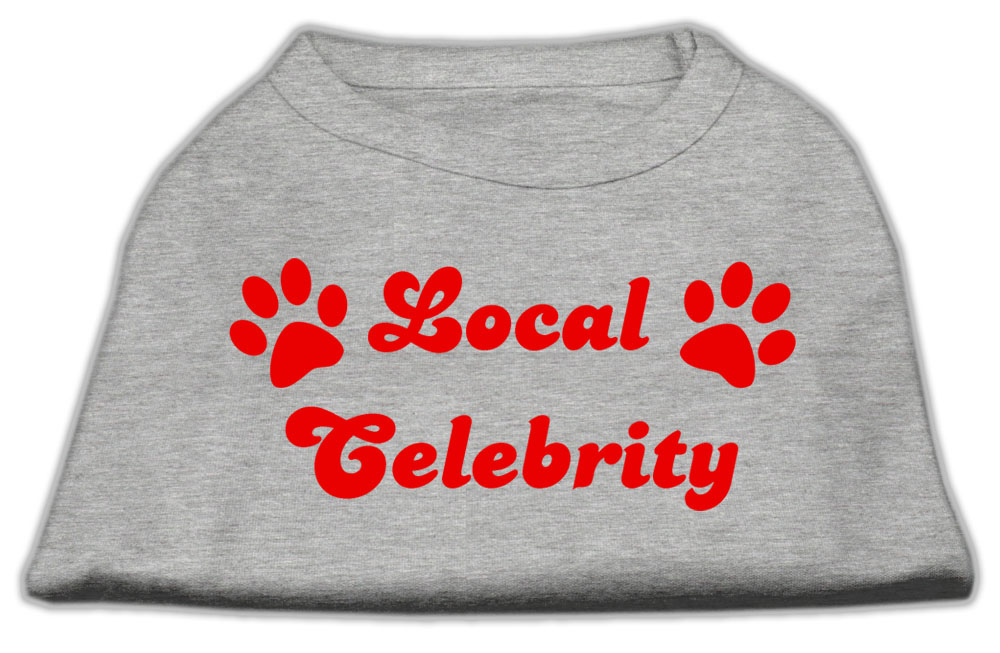 Local Celebrity Screen Print Shirts Grey Lg (14)