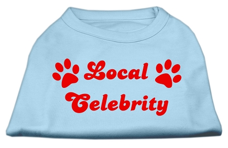 Local Celebrity Screen Print Shirts Baby Blue XS (8)