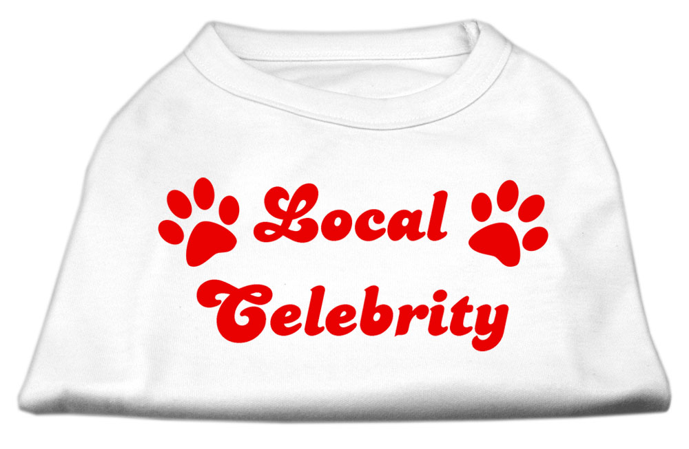 Local Celebrity Screen Print Shirts White XS (8)