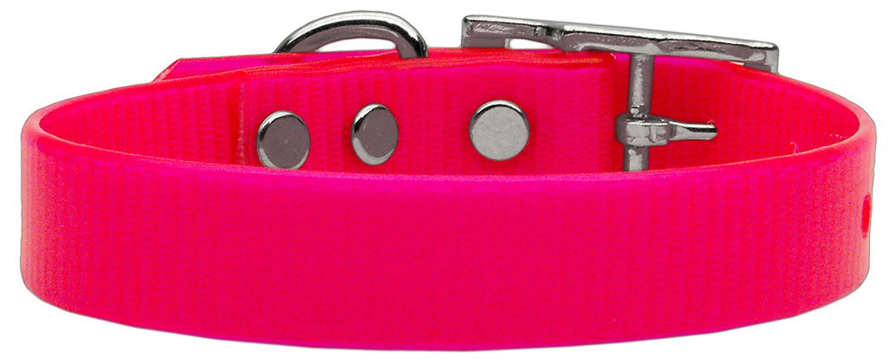 Plain Tropical Jelly Collars Pink Sm