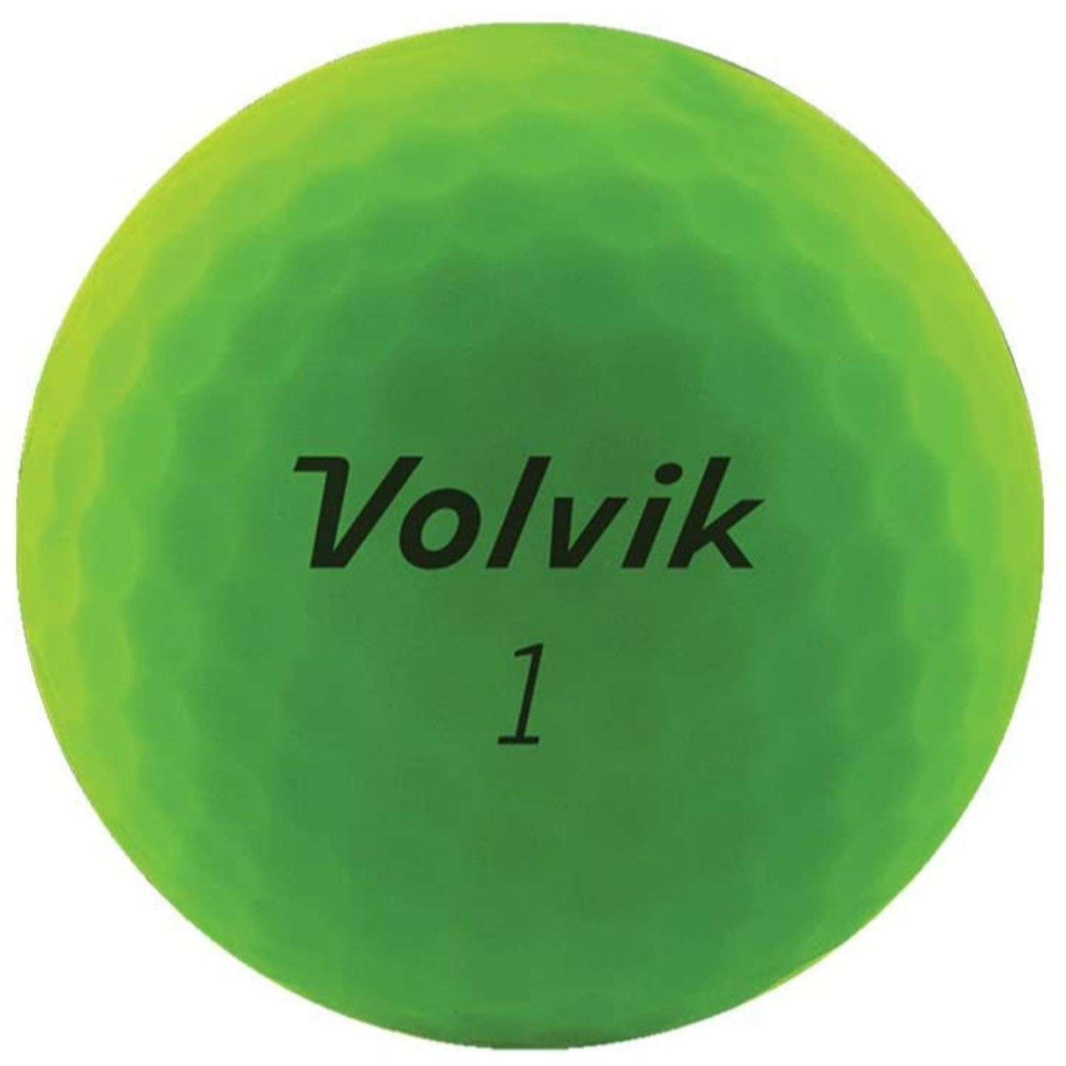 Volvik 2020 Vivid 3 Pc Golf Balls Matte Green