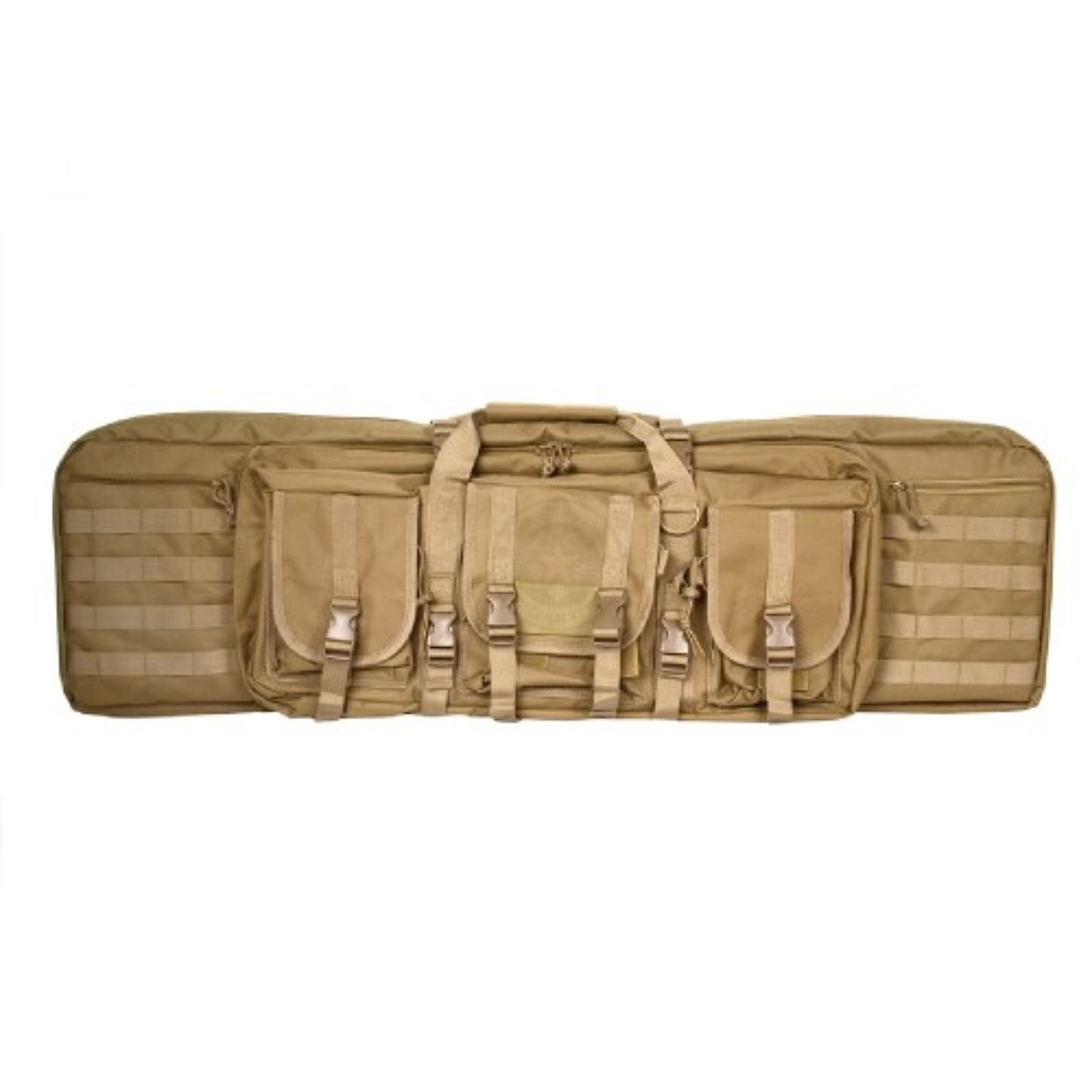 Vism Double Carbine Case-Tan-36 in