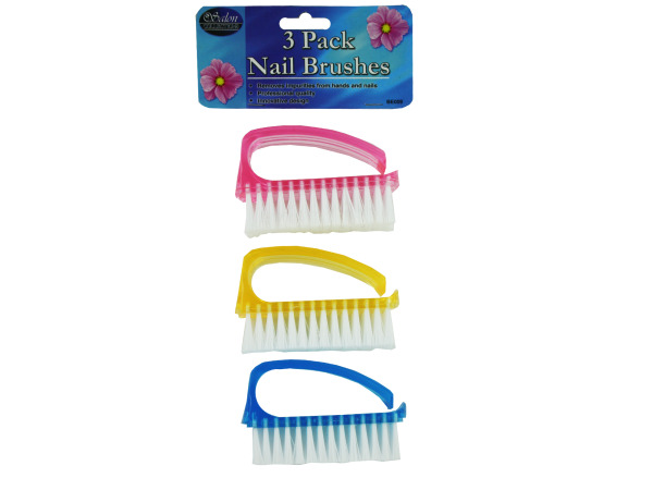Case of 12 - Nail Brush Set
