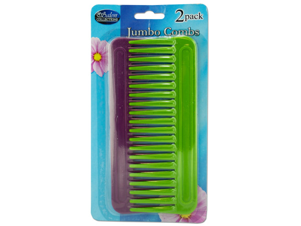 Case of 24 - Jumbo Comb Set