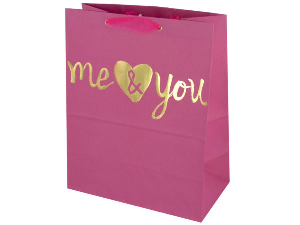 Case of 36 - 'Me & You' Medium Gift Bag