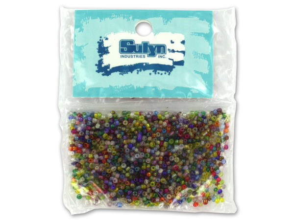 Case of 25 - Multi-Color Seed Beads