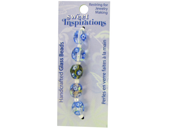 Case of 30 - Monet's Garden Glass Beads