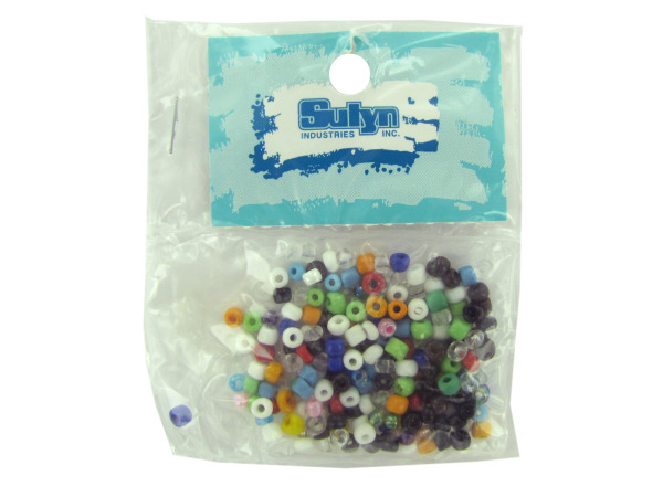 Case of 25 - Small Pony Beads